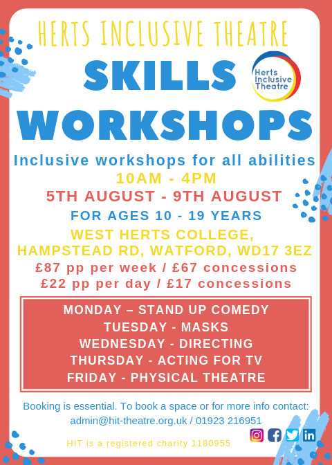Skills Workshop Flyer