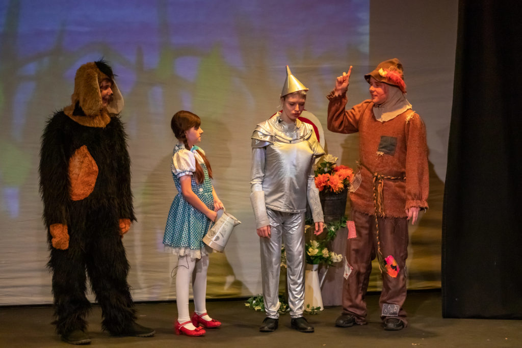 Borehamwood Children's and Youth theatres performance of The Wizard of Oz Panto by Herts Inclusive Theatre at The Pump House, Watford, United Kingdom. Picture: DANNY LOO