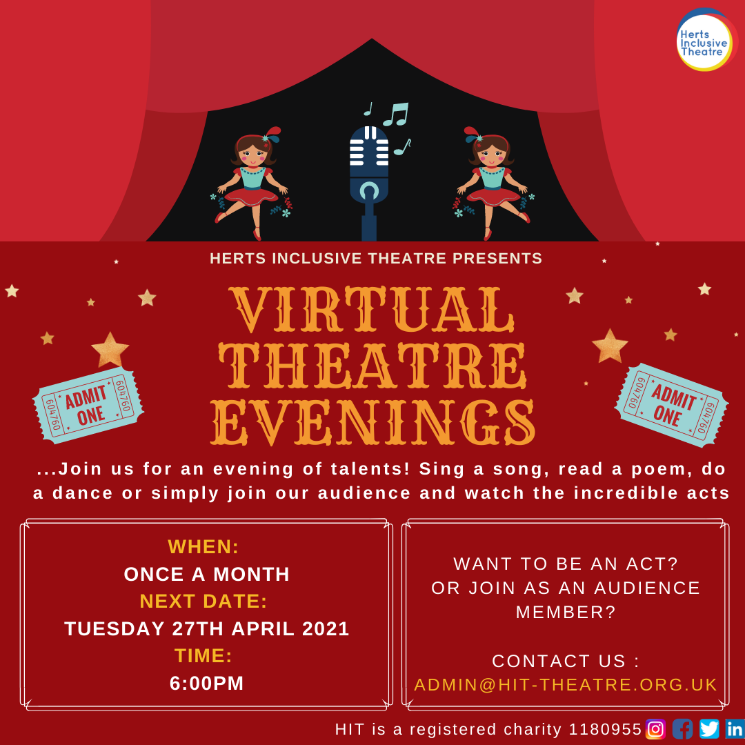 VIRTUAL THEATRE EVENING